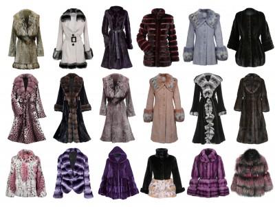 many fur coats